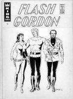 CRANDALL, REED - Flash Gordon - Unpublished cover? 1960s Comic Art
